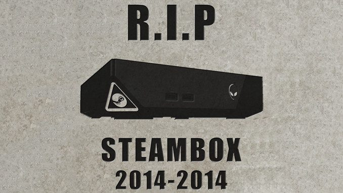 R.I.P Steambox
