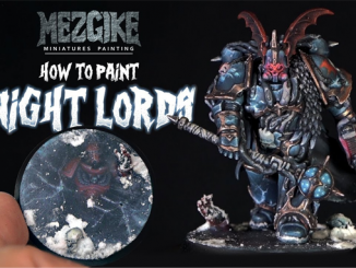 Comment peindre Night Lords Chaos Space Marine