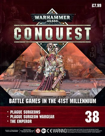 Contenu de la couverture de Warhammer Conquest Issue 38
