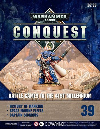 Warhammer Conquest Issue 39 Cover Contents