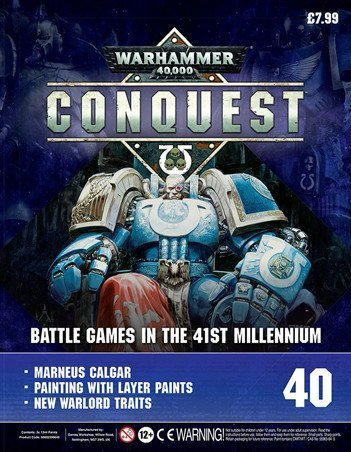 Contenu de la couverture de Warhammer Conquest Issue 40