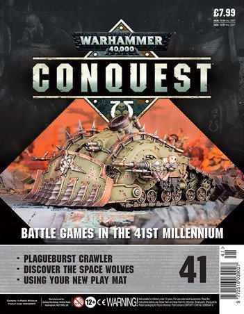 Contenu de la couverture de Warhammer Conquest Issue 41