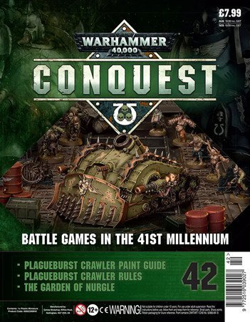Warhammer Conquest Issue 42 Cover Contents