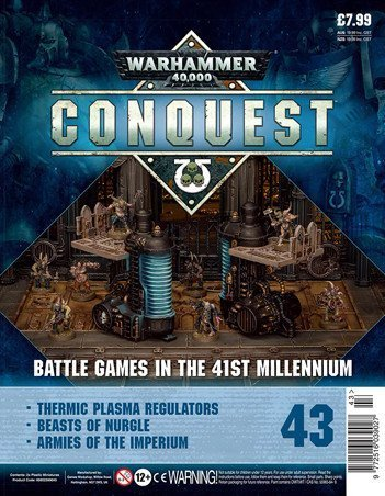 Warhammer Conquest Issue 43 Cover Contents