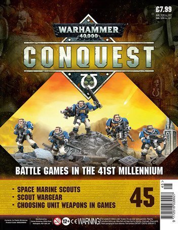 Warhammer Conquest Issue 45 Cover Contents