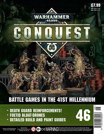Contenu de la couverture de Warhammer Conquest Issue 46