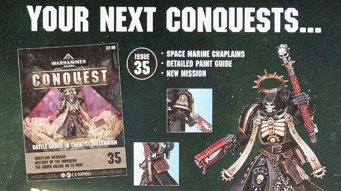 Warhammer Conquest Issues 35 & 36 Contents