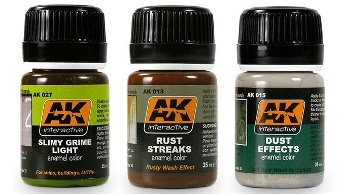 Best Paints for Miniatures & Wargames Models - AK Interactive