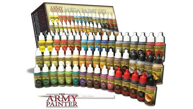 Best Paints for Miniatures & Wargames Models - Army Painter
