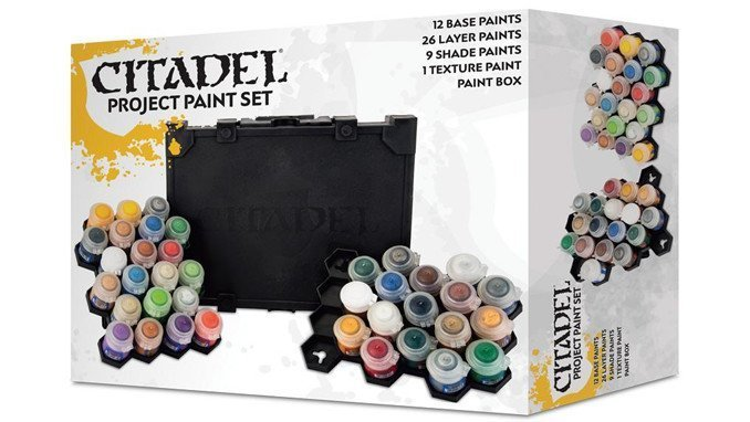 Best Paints for Miniatures & Wargames Models - Citadel Paint Set