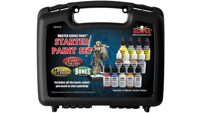 Best Paints for Miniatures & Wargames Models - Reaper Master Series Paint
