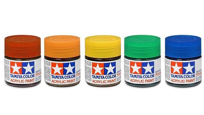 Best Paints for Miniatures & Wargames Models - Tamiya