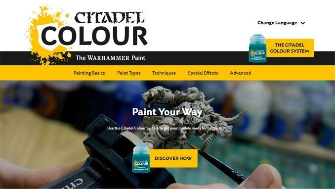 Citadel Color - Website