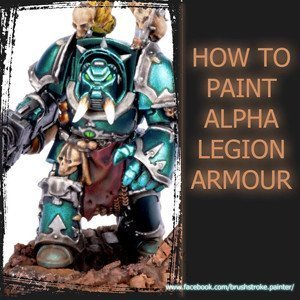 How to paint Alpha Legion Tutorial