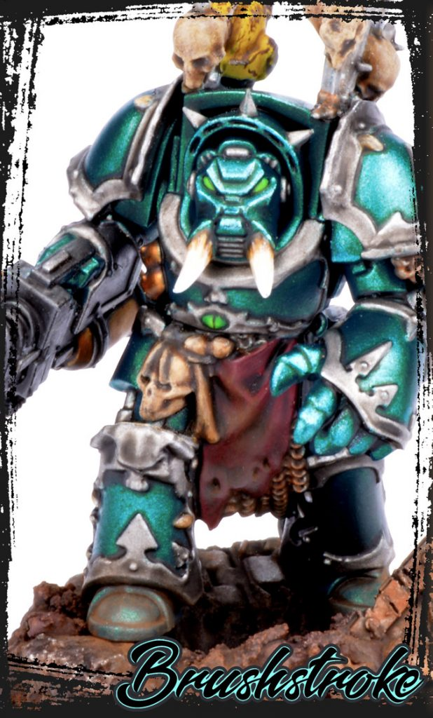 How to Paint Alpha Legion Tutorial Step 0