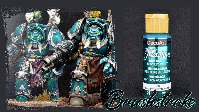 How to Paint Alpha Legion Tutorial Step 1