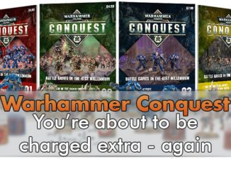 Warhammer Conquest Extra Charge Again - In primo piano