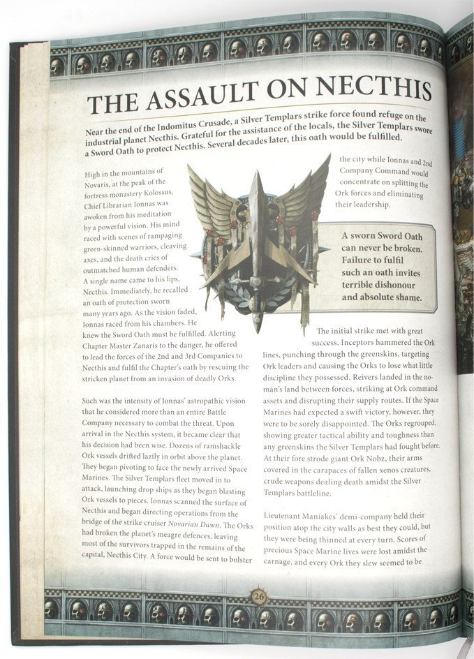 Warhammer 40,000 Conquest - Silver Templars Source Book - Campaign