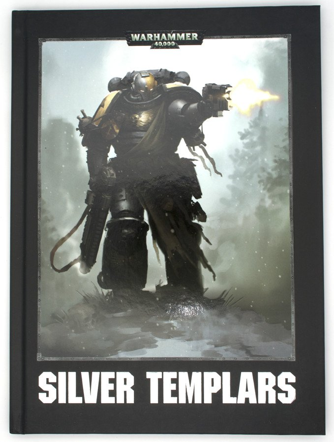 Warhammer 40,000 Conquest - Silver Templars Source Book - Cover