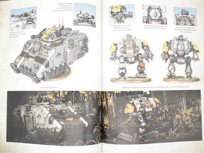 Warhammer 40,000 Conquest - Silver Templars Source Book Heavy