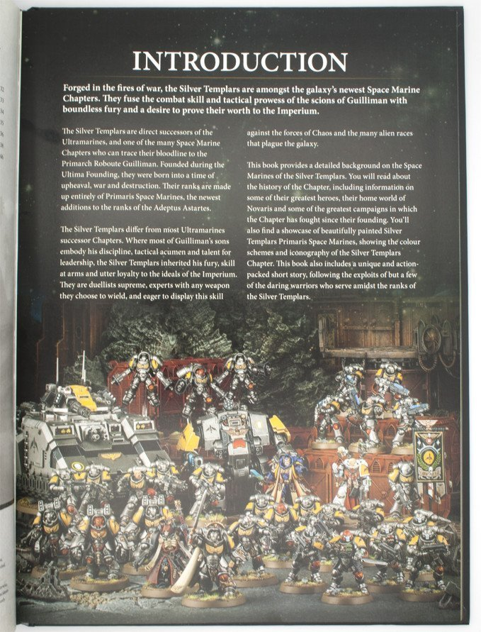 Warhammer 40,000 Conquest - Silver Templars Source Book - Introducción
