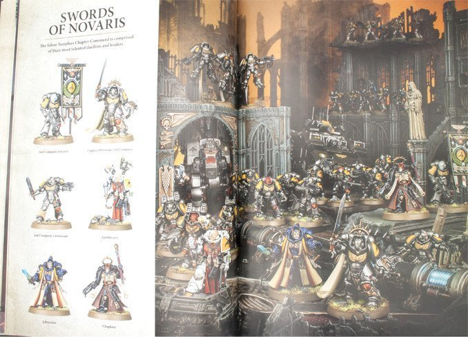 Warhammer 40,000 Conquest - Silver Templars Source Book Leaders