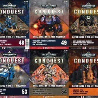 Conquest Issues 47 – 56 Contents
