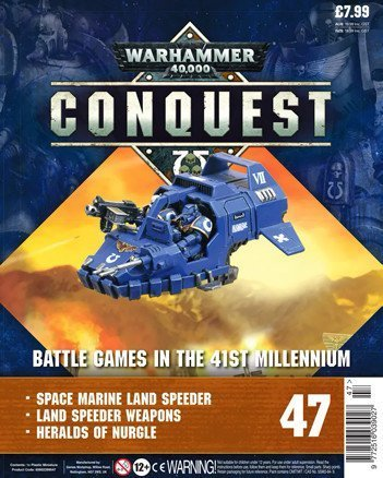 Warhammer Conquest Issue 47 Cover Contents