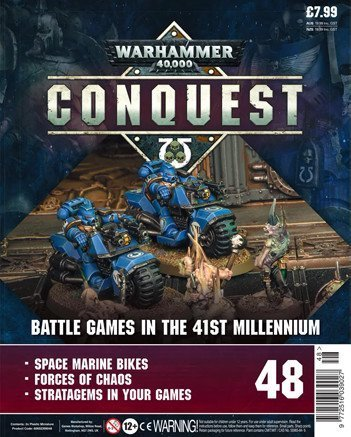Warhammer Conquest Issue 48 Cover Contents