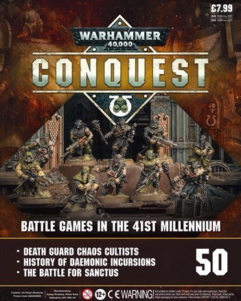 Warhammer Conquest Issue 50 Cover Contents