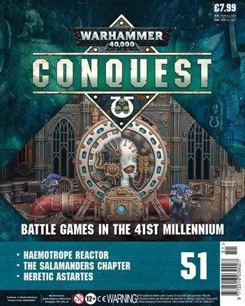 Warhammer Conquest Issue 51 Cover Contents