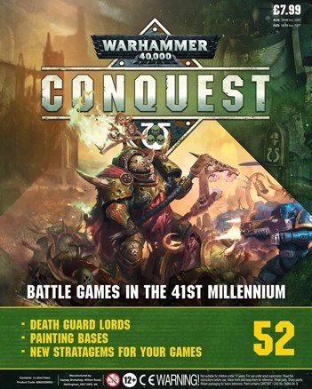 Warhammer Conquest Issue 52 Cover Contents