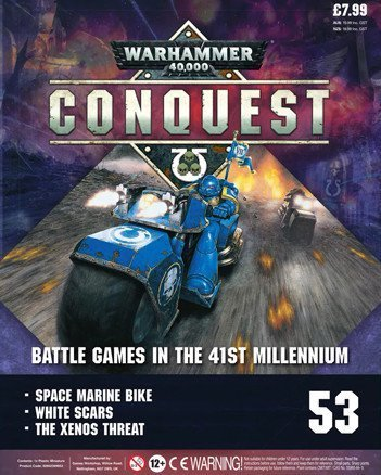 Warhammer Conquest Issue 53 Cover Contents