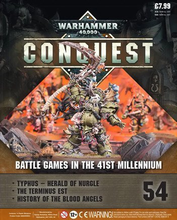 Warhammer Conquest Issue 54 Titelinhalt