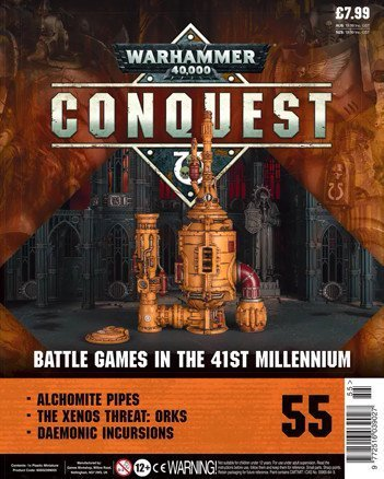 Warhammer Conquest Issue 55 Cover Contents