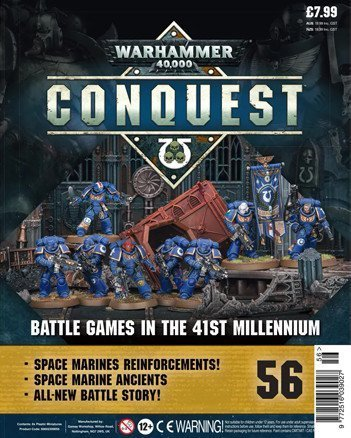 Warhammer Conquest Issue 56 Cover Contents