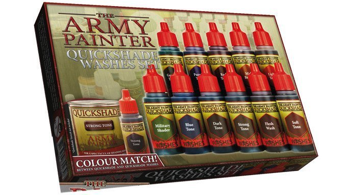 TheThe Army Painter - Quickshade Washes Set Army Painter - Quickshade Washes Set