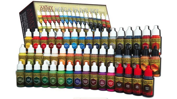 The Army Painter - Warpaints Mega Paint Set