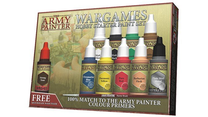 The Army Painter - Warpaints Starter Paint Set