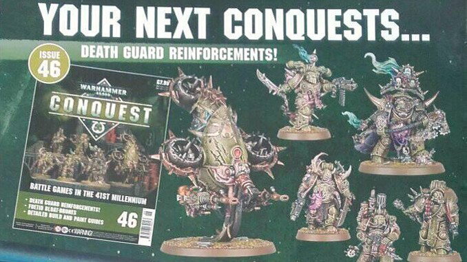 Warhammer Conquest Issues 43 & 44 Contents Featured