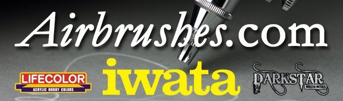 Banner Web di Airbrushes.com