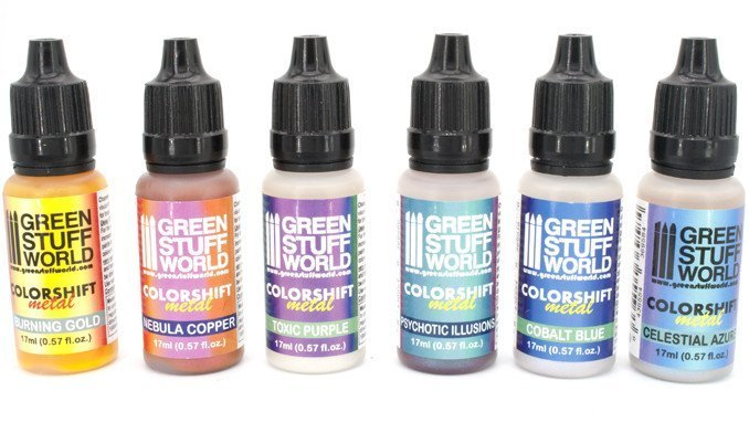 Green Stuff World Chameleon Colourshift Set 1 Review - Bottles