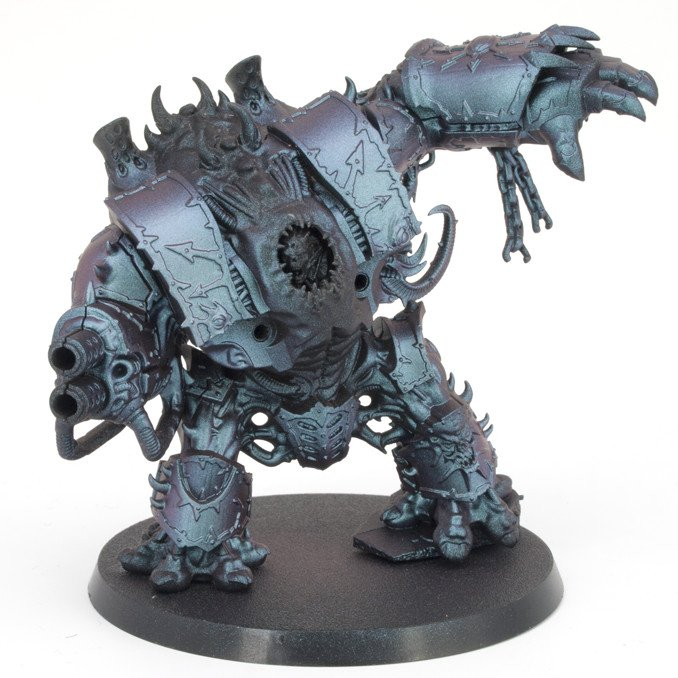 Green Stuff World Chameleon Colourshift Set 1 Review - Hellbrute Base