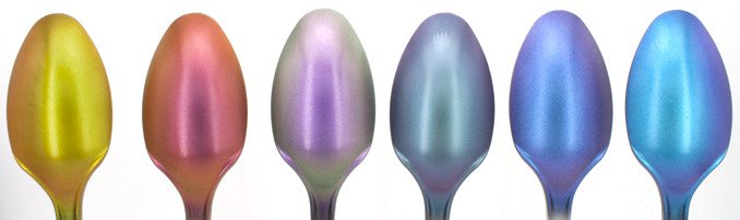 Green Stuff World Chameleon Colourshift Set 1 Review - Spoons on Black