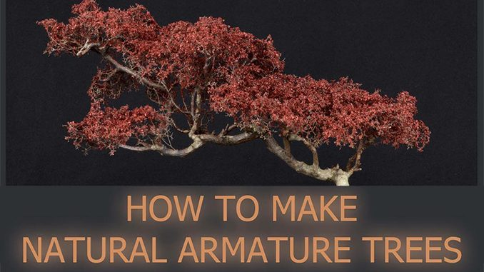 How to Make Natural Armature Trees - Featured
