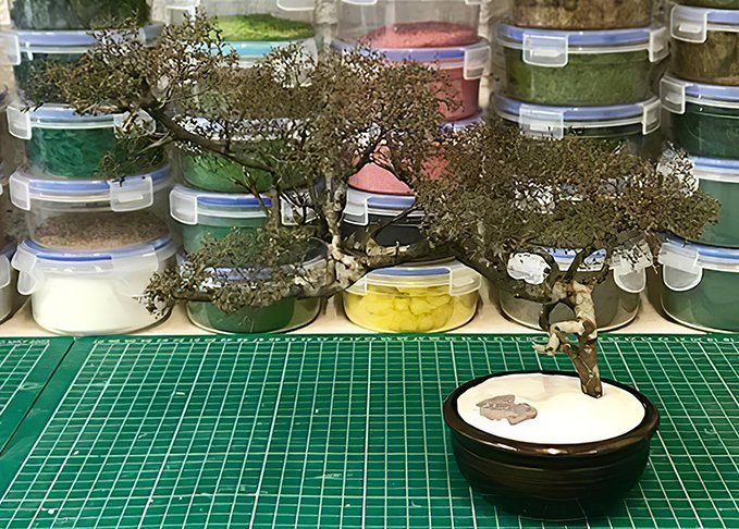 How to Make Natural Armature Trees - Step 4b