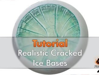 How to Make Realistic Cracked Ice Bases for Miniatures & Wargames Models - Featured