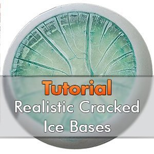 How to Make Realistic Cracked Ice Bases for Miniatures & Wargames Models