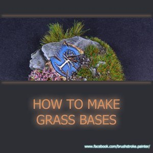 How to Make Static Grass Bases for Miniatures
