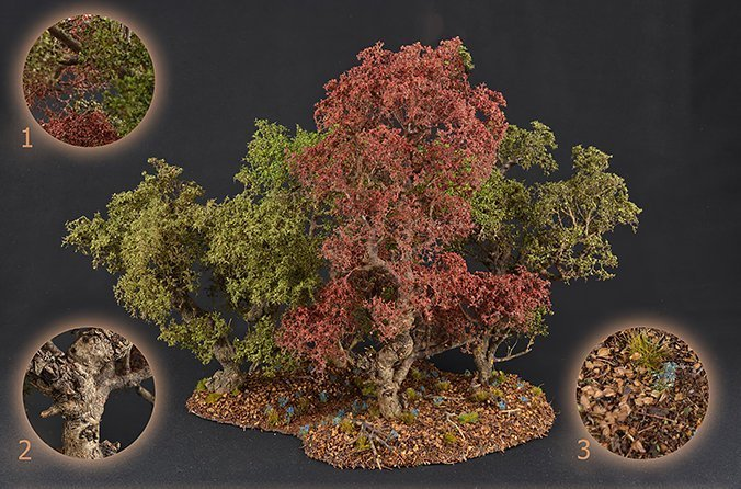 How to Make Trees for Miniatures & Wargames Models - Foliage